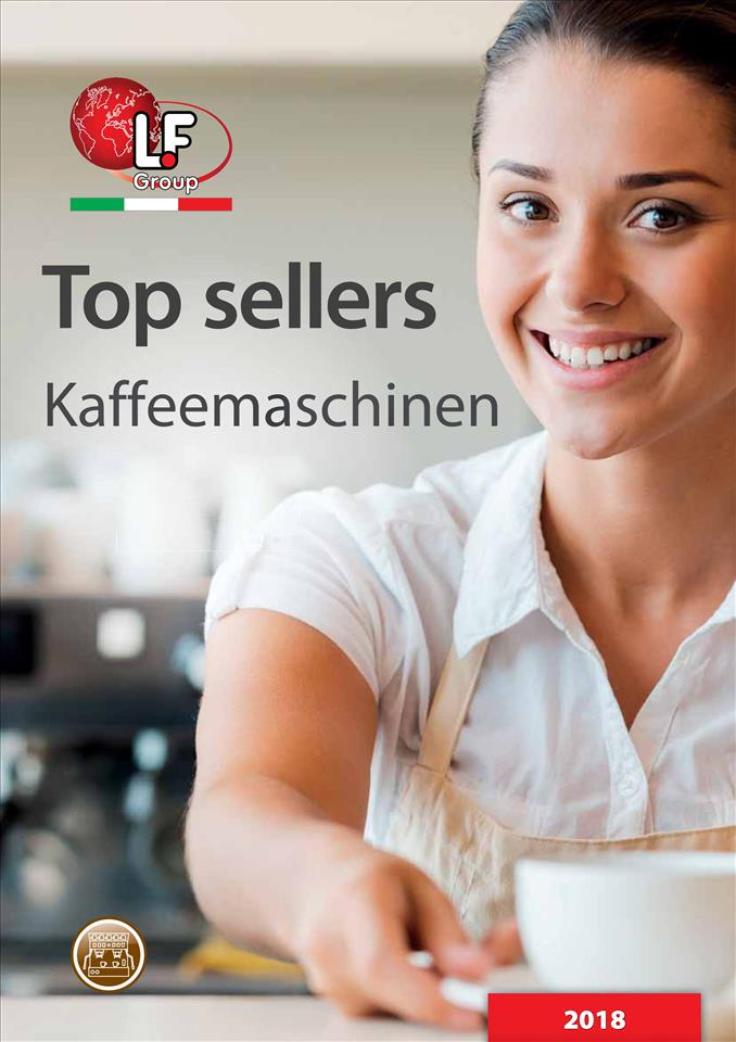 Top sellers - Kaffeemaschinen 01/2018