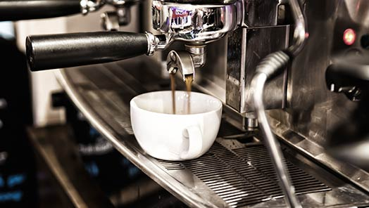 Die traditionelle Espressomaschine